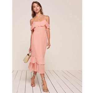 Reformation Odessa Dress Blush Size 0